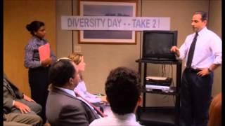 The Office - Michael Tries to be Diverse