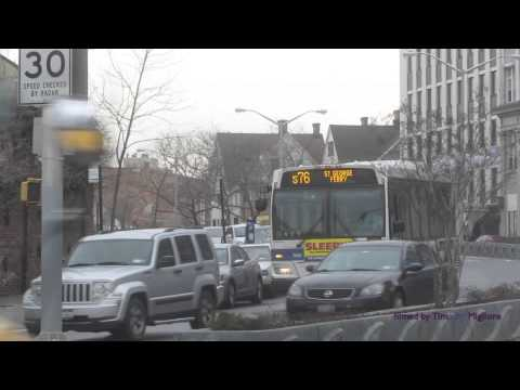 Buses in Staten Island, New York