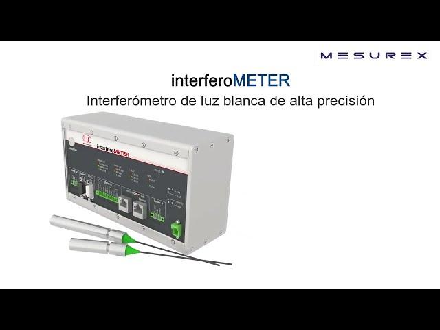 Interferómetros   Mesurex