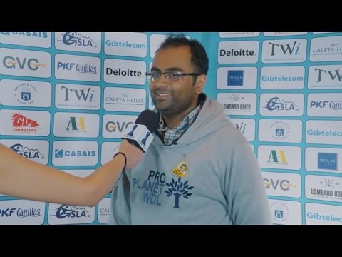Round 3 Gibraltar Chess post-game interview with G.N Gopal