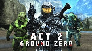 Halo:Reach Infection Campaign - Ground Zero (Act 2)