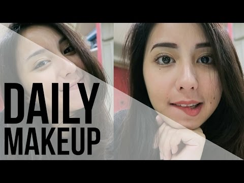 "DAILY MAKEUP ROUTINE || ""no makeup"" makeup"