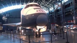 """Take a Walk Around Tour of the NASA Space Shuttle """"Enterprise"""""""