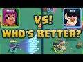 BRAWL STARS - SHELLY VS BULL! - WHO'S BETTER?