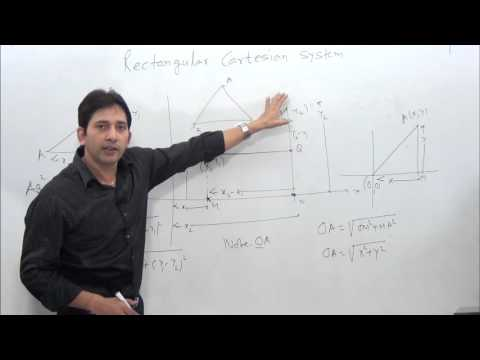 Rectangular Cartesian System-1 Introduction & Concept of coordinate