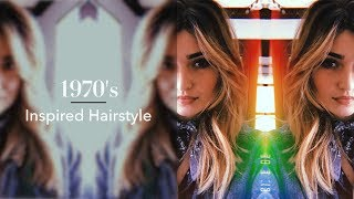 TYME Iron Curtain Bangs How-To! Hairstyle Inspired by Curtain Bangs