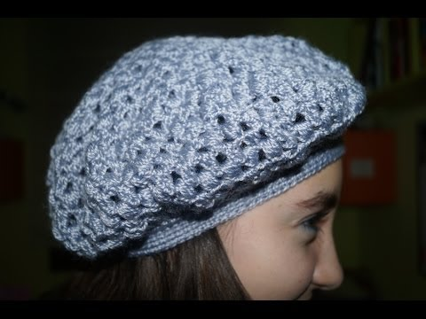 BOINA CROCHET - YouTube