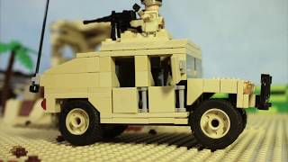 видео: LEGO MODERN WARFARE film: IRAQ WAR part 5