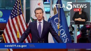 Coronavirus: CA Gov. Gavin Newsom addresses state's response to COVID-19