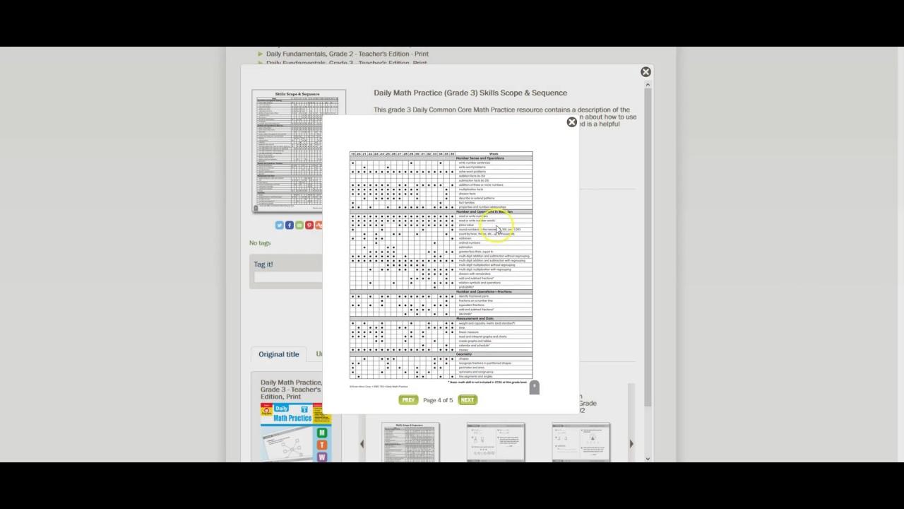 TeacherFileBox Tutorial: Daily Math Practice Grades 1–6 - YouTube