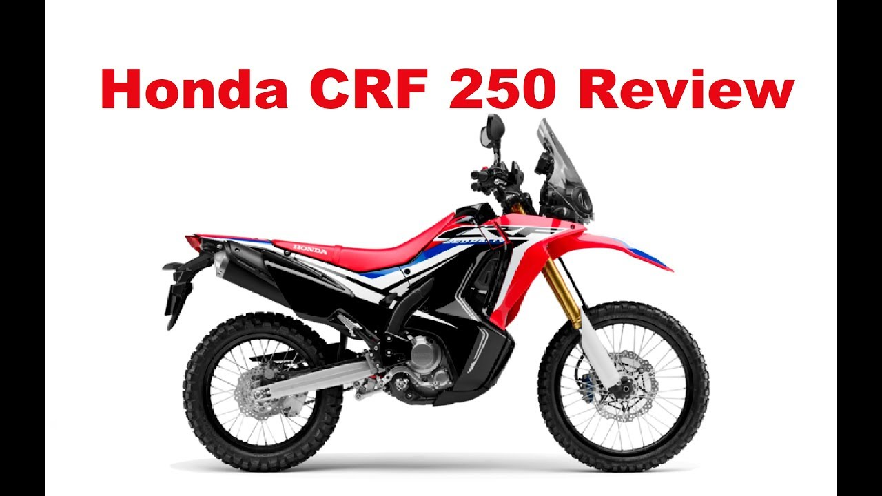Honda Crf 250 Rally Test Ride Review Youtube