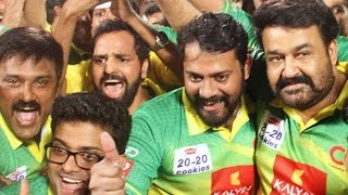 Kerala Strikers  victory over Karnataka Bulldozers Celebration Visuals