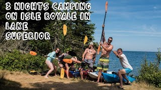 3 Nights Camping on Isle Royale in Lake Superior