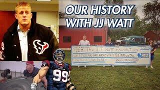 How We Bullied JJ Watt into Being our Best Friend