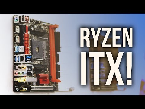 FINALLY!  A Ryzen ITX Motherboard!
