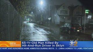 Hit-And-Run Driver Kills Man In Brooklyn