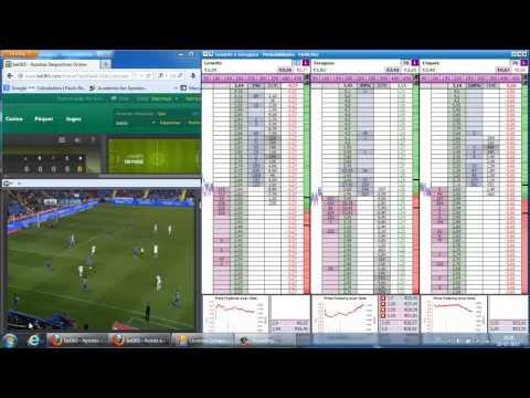 Evoluir!!! Trading Live Betfair Levante - Zaragoza Liga BBVA HD Part 2