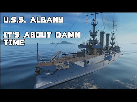 World of Warships - USS Albany Revisit: Is it still crap?