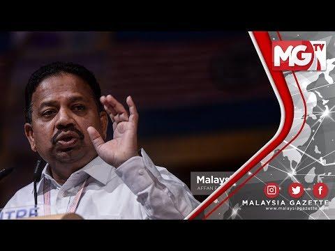 """TERKINI : Dari Dulu Kita Belajar Jawi """"DAP Memalukan"""" - Presiden MIC"""