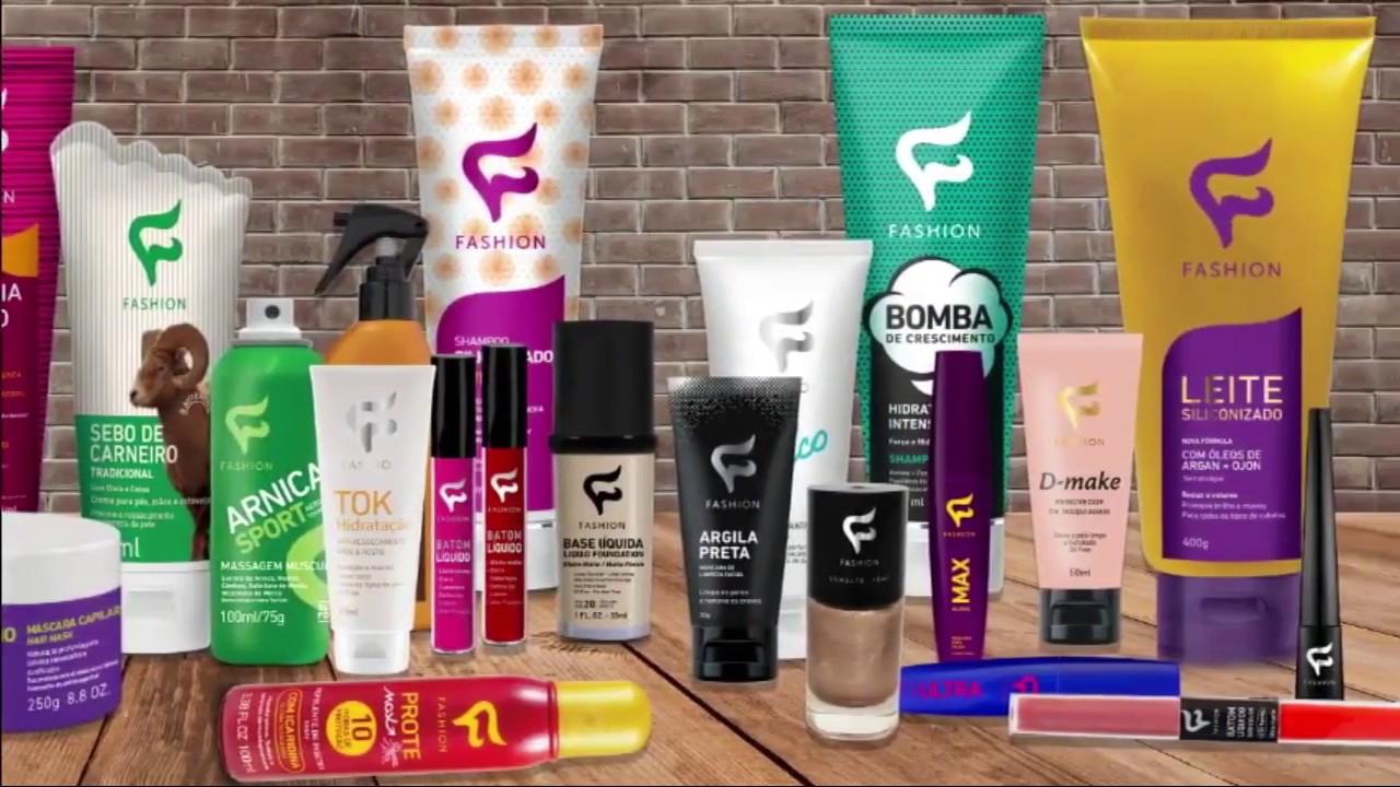 Fabrica Fashion Cosmeticos Compre Produtos Para Revender Youtube