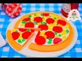 HOW TO MAKE A GUMMY PIZZA | MY LITTLE CAKES