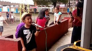 Akin ka na lang cover by 8yrs old Eury videoke challenge (kids)