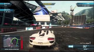Need For Speed Most Wanted (2012) [Xbox 360]: Most Wanted Racer #3 - Porsche 918 Spyder