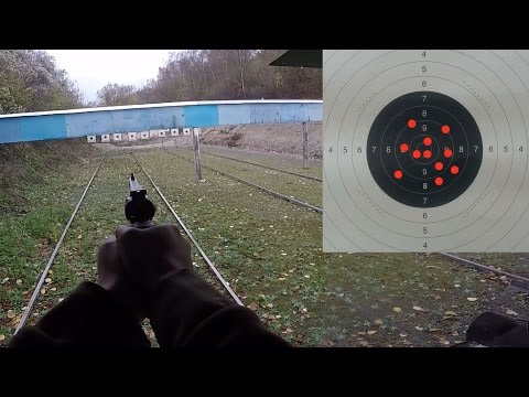 Manurhin MR73 .357 magnum double action POV 25 meters