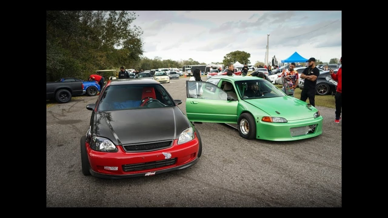 AWD K Turbo Vs AWD B Turbo Nitrous NO PREP FINALS