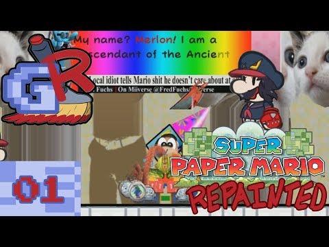 Scrunkus || Super Paper Mario Repainted (Part 1)