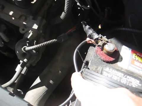 Ford Taurus Mega Wire Battery Cable Repair - YouTube