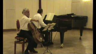 Mendelssohn Cello Sonata no 2 op. 58 II: Allegretto scherzando