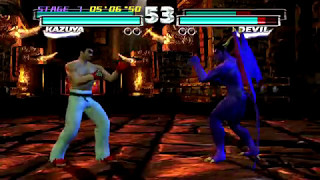 Tekken Tag Tournament HD (PlayStation 3) Arcade as Kazuya/Jin