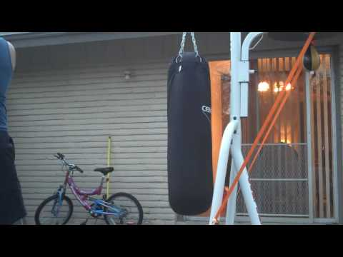 Century Heavy Bag 100lbs And Heavybag Stand