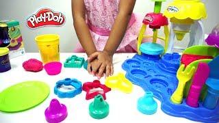 Mainan Anak Play Doh FROSTING FUN BAKERY Sweet Shoppe 💖 Play Doh Membuat CUPCAKE dan BISKUIT