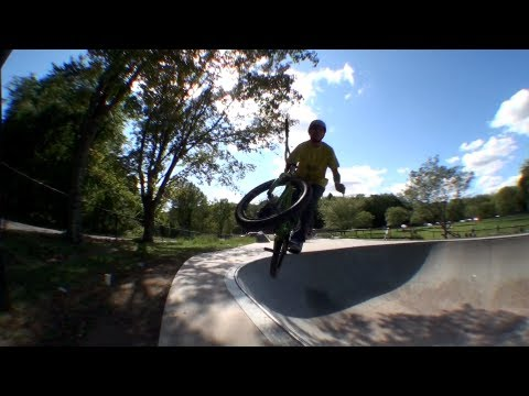 How to Barspin to Tire Tap BMX
