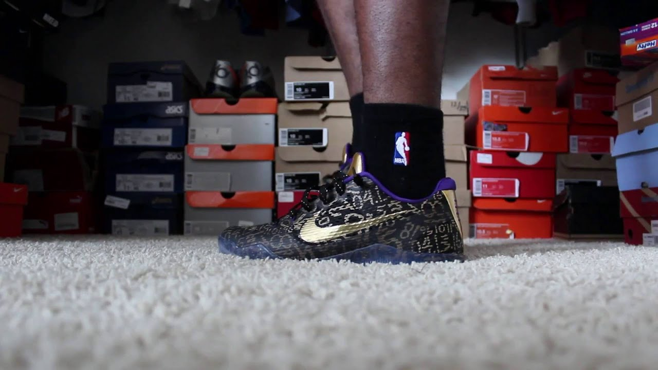 nike kobe mamba instinct on feet