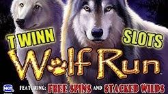 Wolf Run! 🐺 5 FREE SPINS BONUS ROUND!