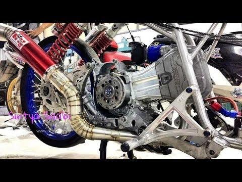 Intip Cara Mekanik Thailand Bongkar Mesin PCX Head CBR Rajanya Matic FFA