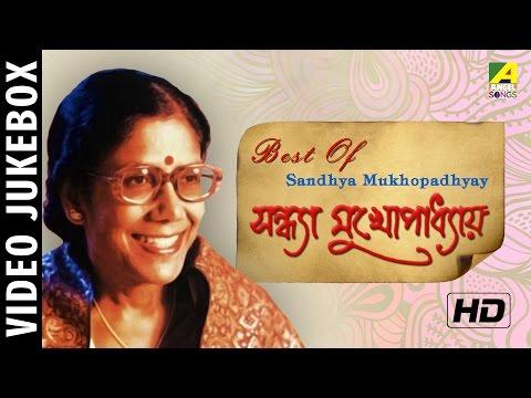 Best Of Sandhya Mukhopadhyay | Bengali Movie Video Songs Jukebox