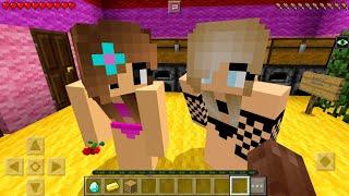 ДВЕ ДЕВУШКИ КРАСАВИЦЫ ВЛЮБИЛИСЬ В МЕНЯ (Анти-Грифер Шоу в Майнкрафте Minecraft PE) антигрифер