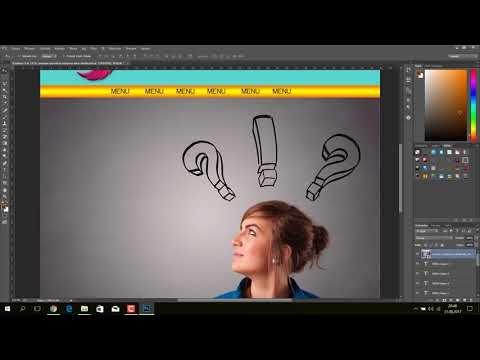 Photoshop ile kolay site yapımı