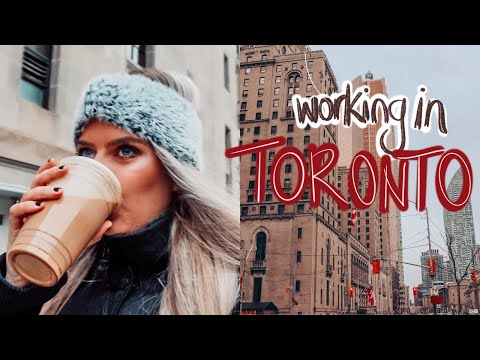 Work Morning Routine// Heading to my 9-5 Job in Toronto, Canada (Monday to Friday!) *realistic*