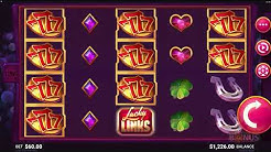 Lucky Links Slot - BIG WIN & Game Play - by JFTW