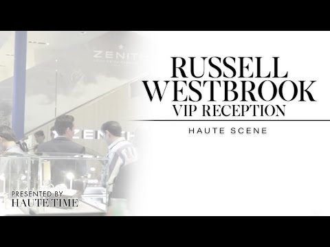 Russell Westbrook Attends A Zenith Cocktail Party