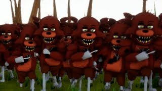 CLONE FNAF FOXY NEIGHBOR - HELLO NEIGHBOR MOD