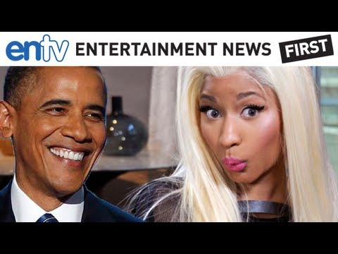 Obama Reacts To Nicki Minaj's Lil' Wayne/Mitt Romney Rap Endorsement: ENTV