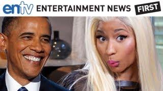 Obama Reacts To Nicki Minaj's Lil' Wayne/Mitt Romney Rap Endorsement: ENTV