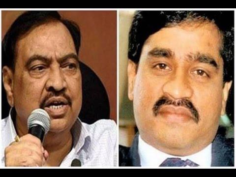 Eknath Khadse Did Not Receive Call From Dawood Ibrahim Says Mumbai Police