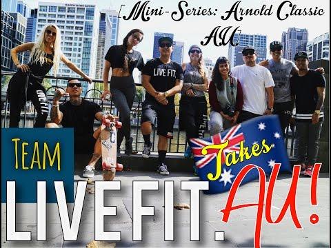 Team LVFT takes AU! Exploring Melbourne/ 2016 Arnold Classic Austrailia Mini-Series: 2